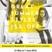Read more about F3 Brands 15% Off Great Summer Styles 21 May - 7 Jun 2015