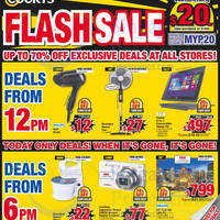 Read more about Courts Up To 70% Off 1-Day Flash Sale 15 May 2015