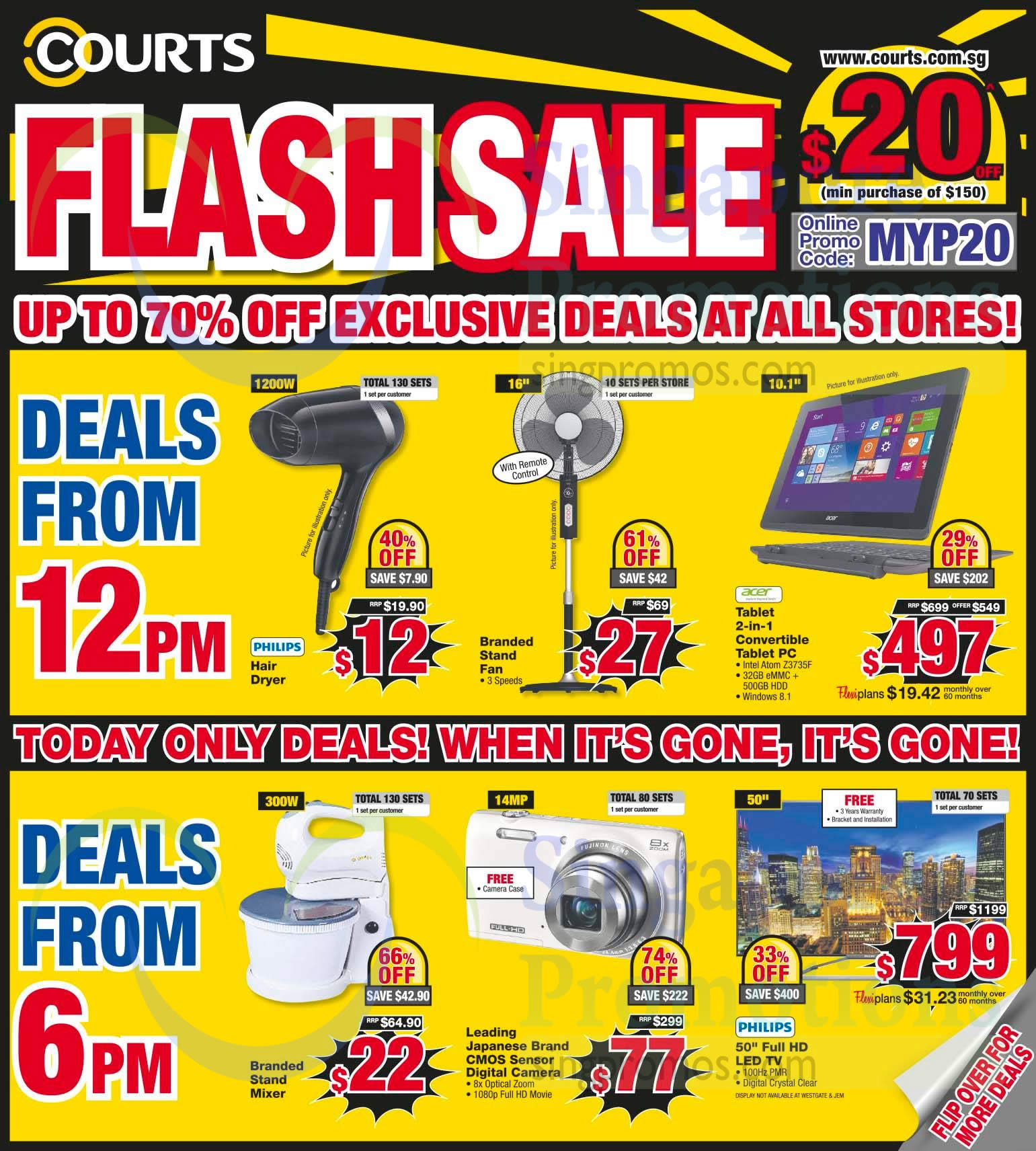 Flash Sale Up to 70 Percent Off Deals, One Day Deals