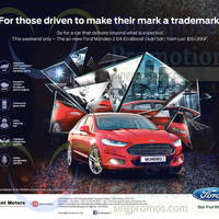 Read more about Ford Mondeo 2.0A EcoBoost Offer 9 May 2015