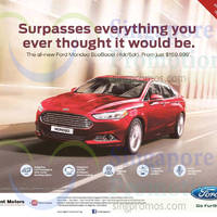 Read more about Ford Mondeo 2.0A EcoBoost Offer 23 May 2015