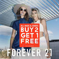 Forever 21 Buy 2 Get 1 FREE 30 May - 1 Jun 2015