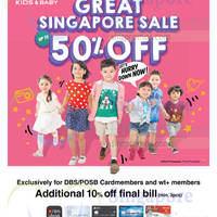 Read more about Fox Kids & Baby 10% Off For DBS/POSB Cardmembers 21 May - 7 Jun 2015