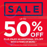 Read more about Gap Up to 50% Off Sale 22 May 2015