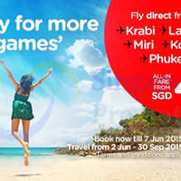 Read more about Air Asia fr $45 (all-in) Promo Fares 1 - 7 Jun 2015