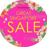 Read more about Gingersnaps 15% Off Great Singapore Sale Promotion 16 May 2015