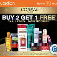 Read more about L'Oreal Paris Buy 2 Get 1 Free @ Guardian 23 Apr - 20 May 2015