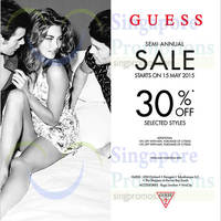 Read more about Guess Semi-Annual Sale (Final Sale!) 15 May 2015