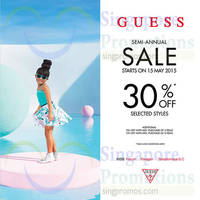 Read more about Guess Kids Semi-Annual SALE (Further Sale!) 15 May 2015