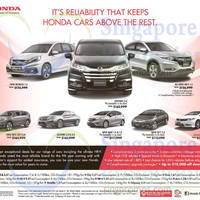 Read more about Honda Mobilio, Odyssey, HR-V, CR-V, Accord, Jazz, City & Civic Offers 23 May 2015