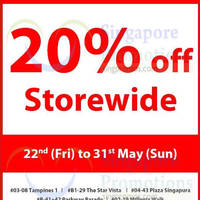 Read more about Howards Storage World 20% Off Storewide 22 - 31 May 2015