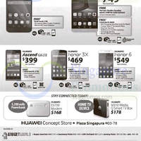 Huawei Smartphones, Tablets & Accessories No Contract Offers 23 - 29 May 2015