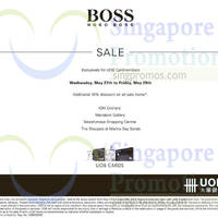 Read more about Hugo Boss Sale 28 May 2015