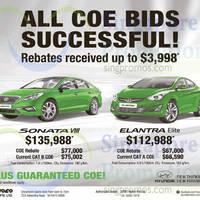 Read more about Hyundai Sonata VIII & Elantra Elite Offers 23 May 2015