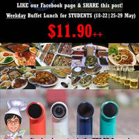 Read more about I'm KIM Korean BBQ $11.90 Student Buffet Weekdays Promo 18 - 29 May 2015