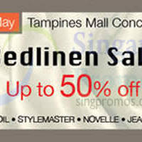 Isetan Bedlinen Sale @ Tampines Mall 29 Apr - 5 May 2015