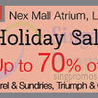 Read more about Isetan Holiday Sale @ Nex 25 - 31 May 2015