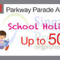 Isetan School Holiday Fair @ Parkway Parade 1 - 7 Jun 2015