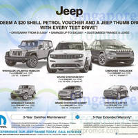 Read more about Chrysler Jeep Wrangler, Grand Cherokee & Cherokee Offers 23 May 2015