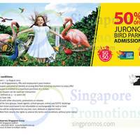 Read more about Jurong Bird Park 50% Off Admission Coupon 1 - 31 Aug 2015