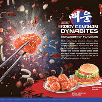 Read more about KFC NEW Spicy Gangnam Dynamites Chicken Bites & Burger Available From 13 May 2015