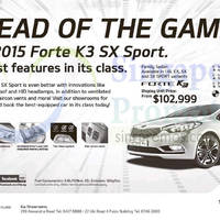 Read more about KIA Forte K3 SX Sport Offer 16 May 2015