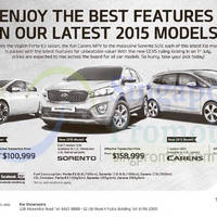 Read more about KIA Forte K3, Sorento & Carens Offers 23 May 2015