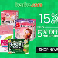 Read more about Kenko.com 25% OFF SK-II, Kanebo, Kose & More (NO Min Spend) 1-Day Coupon Code 12 May 2015