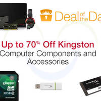 Read more about Kingston Up To 70% Off SSD Drives, Memory Cards, USB Drives & More 24hr Promo 19 - 20 May 2015