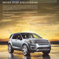 Read more about Land Rover Discovery Sport Offer 1 May 2015