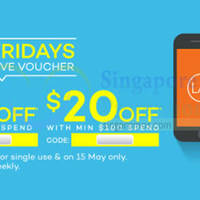 Read more about Lazada $10 to $20 OFF min $40 Spend Storewide 1-Day Coupon Code 15 May 2015