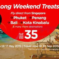 Read more about Air Asia fr $34 (all-in) Promo Fares 11 - 17 May 2015