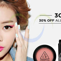 Luxola 30% OFF 3 Concept Eyes Products NO Min Spend 1-Day Coupon Code 28 May 2015