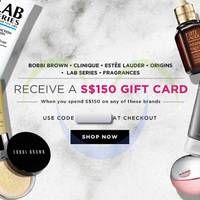 Read more about Luxola Spend $150 On Selected Brands & Get $150 Gift Card Coupon Code 24 - 31 May 2015