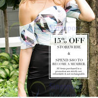Read more about MDS Collections 15% OFF Storewide Promo 8 May 2015