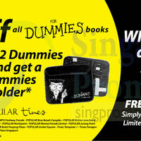Read more about Dummies 20% OFF For Dummies Books Promotion 2 - 31 May 2015