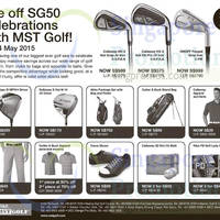Read more about MST Golf SG50 Sale 8 - 14 May 2015