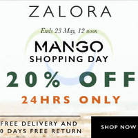 Read more about Mango 20% Off Storewide 24hr Online Flash Sale (12pm to 12pm) 22 - 23 May 2015