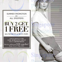 Read more about Marks & Spencer Buy 2 Get 1 Free Summer Promotion 14 May 2015
