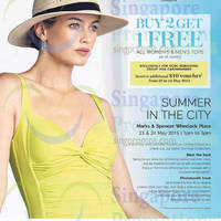 Read more about Marks & Spencer Tops Buy 2 Get 1 Free Promotion 21 May 2015