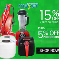 Mayer 20% OFF (NO Min Spend) Coupon Code 5 May 2015