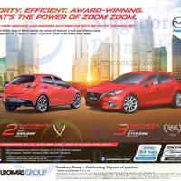 Read more about Mazda 2 Hatchback & Mazda 3 Hatchback Demo Units Offers 2 May 2015