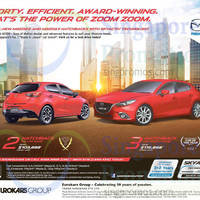 Read more about Mazda 2 Hatchback & Mazda 3 Hatchback Demo Unit Offers 9 May 2015