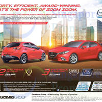 Read more about Mazda 2 Hatchback & Mazda 3 Hatchback Demo Unit Offers 23 May 2015