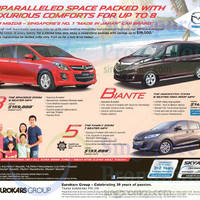 Read more about Mazda Biante, Mazda 5 & Mazda 8 MPV Demo Unit Offers 2 May 2015