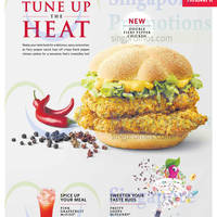 Read more about McDonald's NEW Fiery Pepper Chicken Burger 14 May 2015