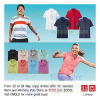 Uniqlo Islandwide Limited Offers 22 - 28 May 2015