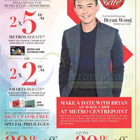Metro 20% Off Storewide Promotion 29 - 30 May 2015