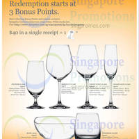 Fairprice Spend & Redeem Exclusive Spiegelau European Glassware 29 May - 22 Jul 2015