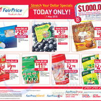 Read more about NTUC Fairprice 1-Day Labour Day Deals 1 May 2015